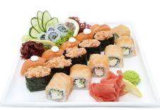 Free Sushi Royalty Free Stock Photography - 25224227