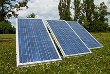 Free Solar Panels Royalty Free Stock Image - 25225056