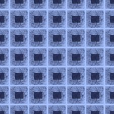 Free Seamless Repeating Block Pattern In Blues Stock Images - 25226984