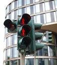 Free Traffic Lights In Hamburg Royalty Free Stock Photo - 25239685