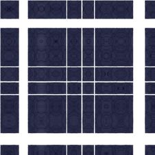 Free Seamless Repeating Block Pattern In Blue And White Royalty Free Stock Images - 25234339