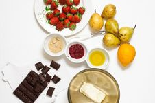 Free Cake Ingredients Stock Photography - 25236652