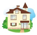 Free Detailed House Royalty Free Stock Images - 25245269