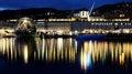Free Genoa Night Landscape Royalty Free Stock Image - 25248856
