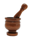 Free Wooden Mortar And Pestle Stock Photo - 25248870