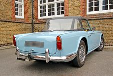 Free Classic Triumph TR4 Car Royalty Free Stock Images - 25240789