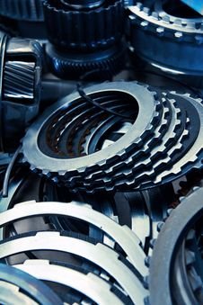 Free Automobile Gear Assembly Stock Photography - 25241912