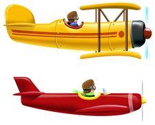 Free Aircrafts Royalty Free Stock Photo - 25244965
