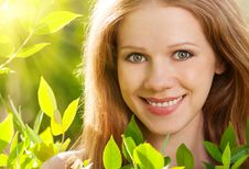 Free Beauty Girl In Nature Stock Photography - 25246982