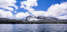 Free Paulina Lake With Peak In Background Stock Photography - 25249362