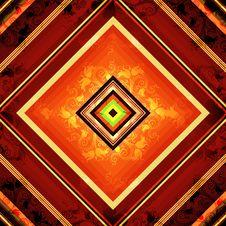 Free Seamless Rhombic Pattern Stock Photography - 25253192