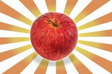Free Apple And Excite Background Stock Photography - 25253402
