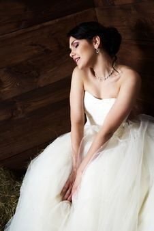 Free Bride In The Barn Royalty Free Stock Photo - 25254245