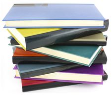 Free Pile Of Color Books Royalty Free Stock Photography - 25254787