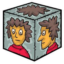 Free Head Inside A Box Stock Photo - 25256450