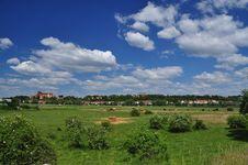 Free German Country Landscape. Havelberg Saxony Anhalt. Stock Images - 25256864