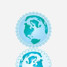 Free Earth Icon Royalty Free Stock Images - 25259479