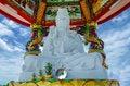 Free White Jade Kuan Im Stock Photo - 25261730
