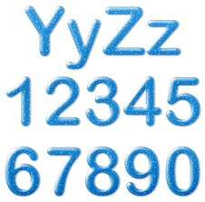 Free Water Text Style Royalty Free Stock Photography - 25262597
