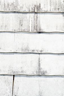 Painted Siding Royalty Free Stock Photography