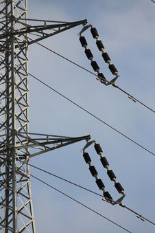 Free High Power Electric Line Stock Photography - 25263632