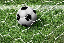 Free Soccer Football Royalty Free Stock Photography - 25267017
