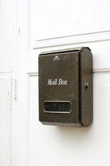 Free Mail Box Royalty Free Stock Photos - 25267118
