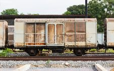 Free Old Train Container Stock Photography - 25271852