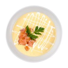 Free Creamy Soup Royalty Free Stock Photography - 25273617
