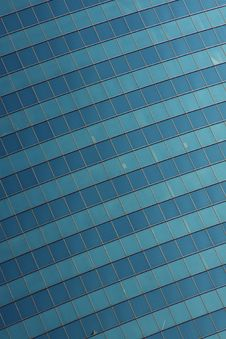 Free Glass Wall Of An Office Building Stock Image - 25279531