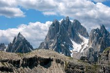 Free High Peeks In Alps Stock Photography - 25279672