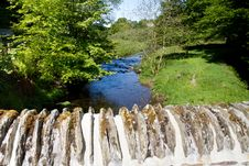 Free A View From The Bridge In Simonsbath, Exmoorr Stock Image - 25279971