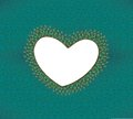 Free Heart Frame With Elegant Peacock Feathers Royalty Free Stock Images - 25287079