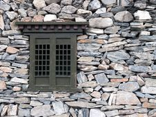 Free Window And Wall Rock Stock Photography - 25281462