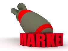 Free Market Bomb Stock Images - 25281864