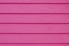 Free Pink Wood Wall Stock Photography - 25283172
