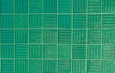 Free Green Tiles Royalty Free Stock Photos - 25283498