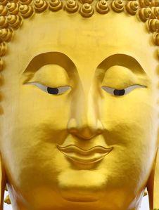 Free Smile Buddha S Face Stock Images - 25287094