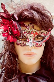 Free Italy Mask Royalty Free Stock Photos - 25289478