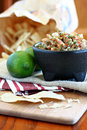 Free Fresh Salsa With Lime Royalty Free Stock Image - 25297286
