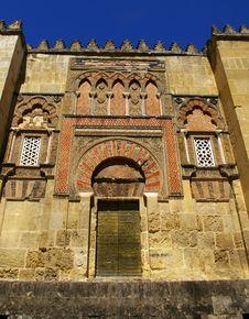 Free Entrance To La Mezquita, Cordoba; Stock Photography - 25290802
