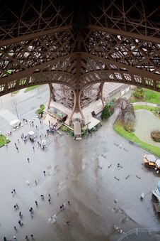 Free View From The Eiffel Tower Stock Photo - 25299350