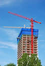 Free Construction Site With Cranes Stock Photos - 2531063