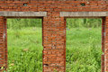 Free The Wall Of The Red Bricks Stock Photos - 2535853