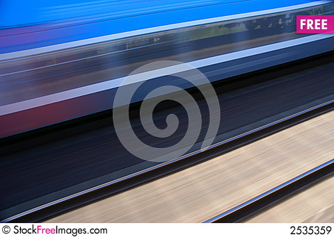 Free Train In Motion Royalty Free Stock Images - 2535359