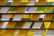 Free Colorful Tinted Glass Royalty Free Stock Image - 2530086