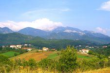 Free Mountains Village Stock Images - 2530134