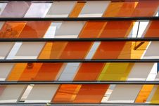 Free Colorful Tinted Glass Stock Photography - 2530152