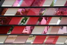 Free Colorful Tinted Glass Royalty Free Stock Image - 2530426