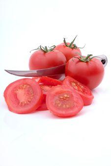 Free Sliced Tomatoes Stock Photos - 2530673